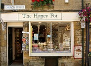 The Honey Pot of Stow-on-the-Wold was establish in 1919, Cotswolds, UK