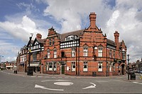 The Swan and Chequers hotel in Sandbach Cheshire UK