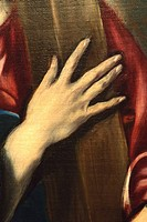 Detail: Christ Carrying the Cross, ca 1580, by El Greco (Doménikos Theotokópoulos), Oil on canvas, Greek, Spanish, Oil on canvas, 41 5/16 x 31 1/8 in ...