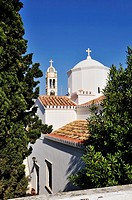 Agios Nikolaos monastery and church, Spetses town, Spetses island, Greece