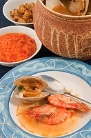 Bouillabaisse seafood stew