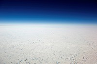 Aerial view of the North Pole