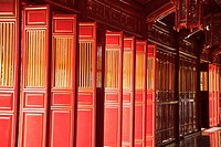 Interiors of a palace, Imperial City, Hue, Vietnam