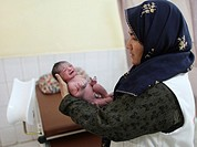 new born Afghan baby
