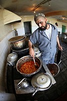 food at an Afghan hospital
