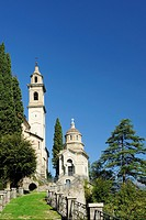 Church, Brienno, Lake Como, Lombardy, Italy