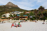 Beach life, Clifton, Capetown, Western Cape, RSA, South Africa, Africa