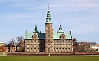 Rosenborg Castle in Copenhagen, Denmark