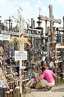 Lithuania _ Siauliai _ Mountain of the crosses