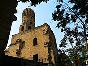 Mosque at Bab Al Wazir, Islamic Quarter, Cairo Egypt