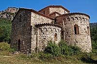 St Pere de Graudescales, Romanesque s. X, Solsones, Catalonia, Spain.