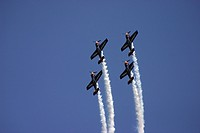 formation flight at a airshow