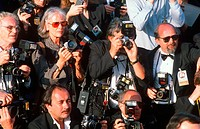 Photographers at Academy Award Ceremonies, Hollywood, California