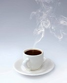 Cup of Aromatic Black Coffee