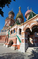 St  Basil´s Cathedral in Moscow on red square, Russia