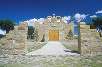 The Sacred Heart Church or Mission in Quemado New Mexico