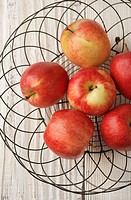 red apples, apples, fruit, fresh, produce, fall, country, food