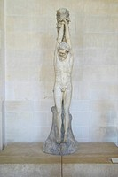 Sculpture of Christ at the Louvre, Paris, France