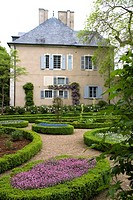 France, Centre province, Departement of Indre 36, Nohant-Vic   House of the famous french writer George Sand who used to come here with her lover the ...