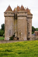 France, Centre province, Departement of Indre 36, Sarzay   The castle of Sarzay medieval where the famous french writer George Sand liked come with he...