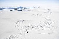 Iceland, vatnajokull glacier