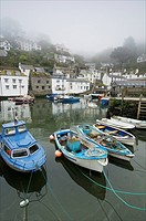 In Polperro, a small fishing village, on the south coast of Cornwall.