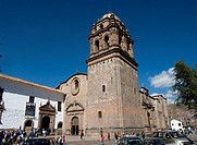 Peru. Cusco city. Church and convent of Santo Domingo (Koricancha).