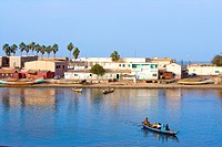 Senegal _ Saint_Louis _ Langue de Barbarie _ N'Dar Tout _ Fishermen's village