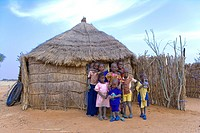 Senegal _ Saint_Louis Region _ Village in the bush Peuls