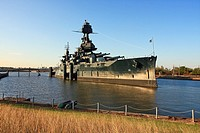 Battleship USS Texas - La Porte, TX  Commissioned in 1910, the BB-35 USS Texas played roles in major conflicts in both World Wars including Iwo Jima a...