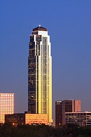 Williams Tower - Houston, TX  The 64-story Williams Tower stands as an icon of Houston's Galleria Uptown district