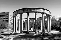 Mecom-Rockwell Fountain and Colonnade - Houston, TX  This 1968 Hermann Park monument is constructed of corinthian-style limestone columns from the ori...