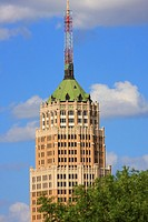 Tower Life Building - San Antonio, Texas  Standing at 403 feet tall, the Tower Life Building is a dominating fixture in the San Antonio skyline  This ...