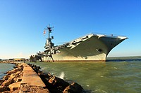 USS Lexington Aircraft Carrier - Corpus Christi, Nueces County, Texas