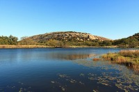 Enchanted Rock and Moss Lake - Enchanted Rock SNA, Texas