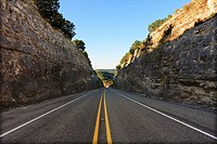Hill Country Passage - Bandera County, Texas  Ranch Road 337 near Vanderpool