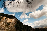 Franciscan sanctuary of Greccio, Greccio, Rieti, Lazio Latium, Italy, Europe
