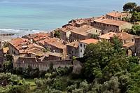COASTAL TOWN OF CASTIGLIONE DELLA PESCAIA, GROSSETO REGION, MAREMMA, TUSCANY, ITALY