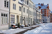 Historic houses in Lübeck / Luebeck, Germany