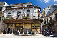 Cuba, Havana, street corner