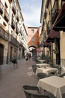 AVILA STREET, CASTILLA Y LEON, SPAIN