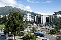 Ecuador. Quito. Financial District