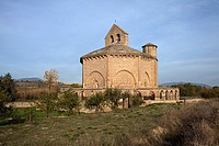 Eunate octagonal temple. Romanesque art, XII century