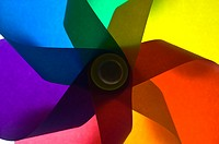 A colorful Pinwheel, full frame