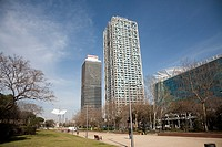 Hotel Arts Barcelona and Torre Mapfre, Barcelona, Spain