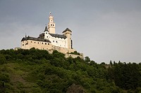 Marksburg Castle, Braubach, Romantic Rhine, Germany