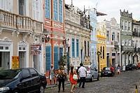 Rua do Carmo. Largo do Pelourinho. Salvador, Brazil