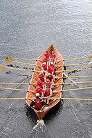 rowing team in Kainuun soutu Sotkamo Kainuu Finland