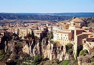 Overview. Cuenca, Castilla La Mancha, Spain.