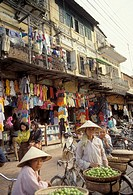 Asia,North Vietnam, Hanoi,capital and second-largest city of Vietnam builded in 1010 by Minh Mang emperor,Old Quarter has the original street layout a...